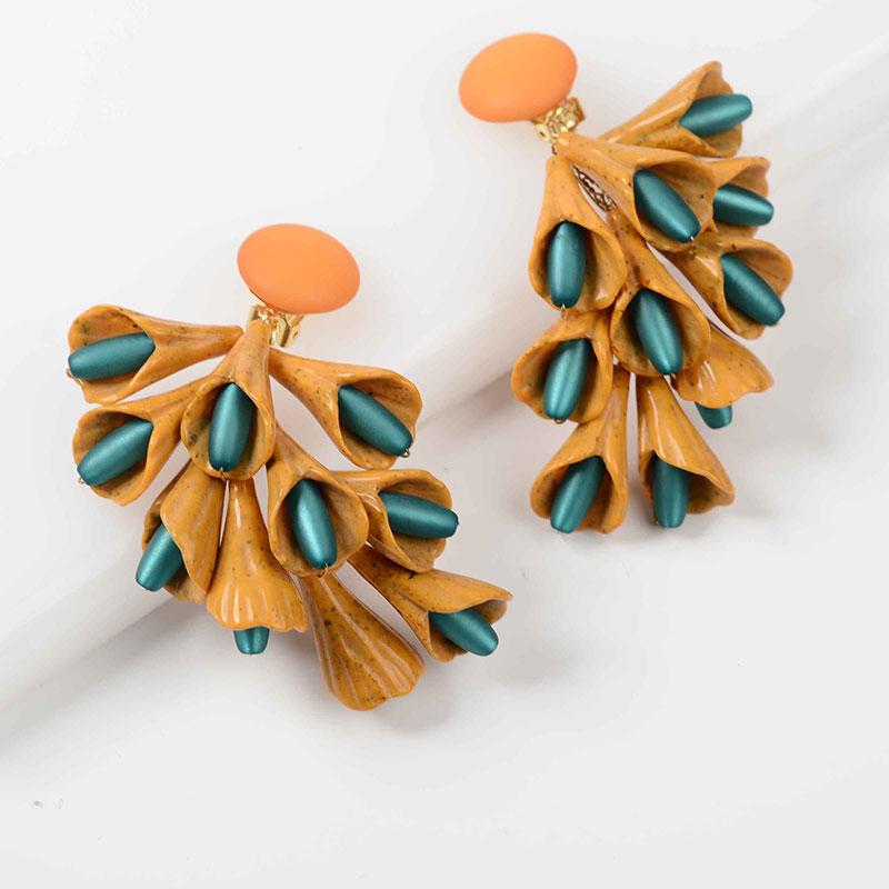 Aros rama naranja y azul