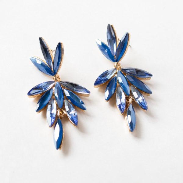 aro de cristal azul