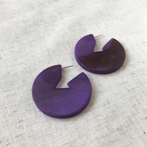 aro de resina violeta