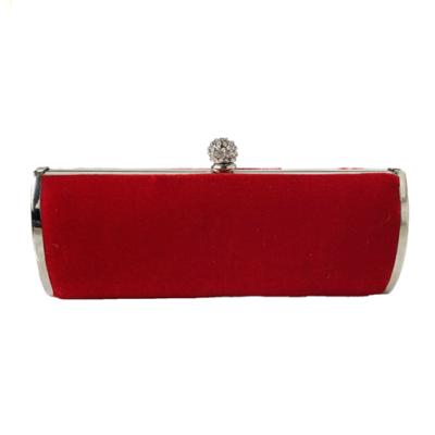 clutch bolso rojo