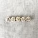 hebilla peineta con perlas