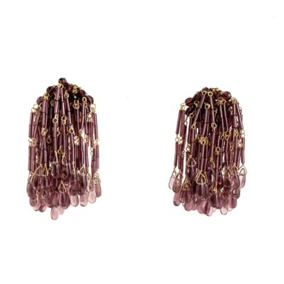 aro violeta cristal