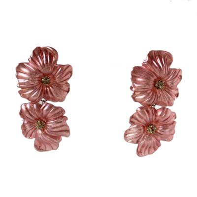 aros flores de resinas