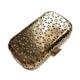 clutch dorado de metal