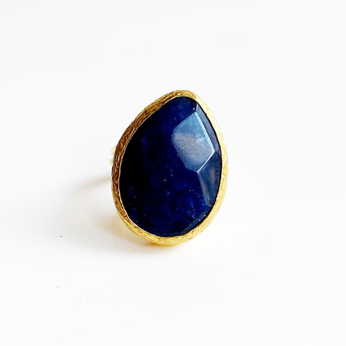 anillo lapiz lazuli