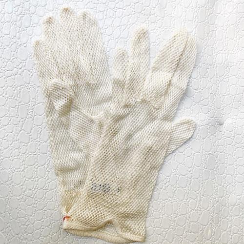 guantes blancios
