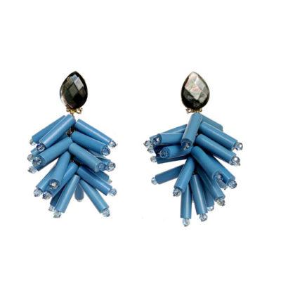 aro de resina azul