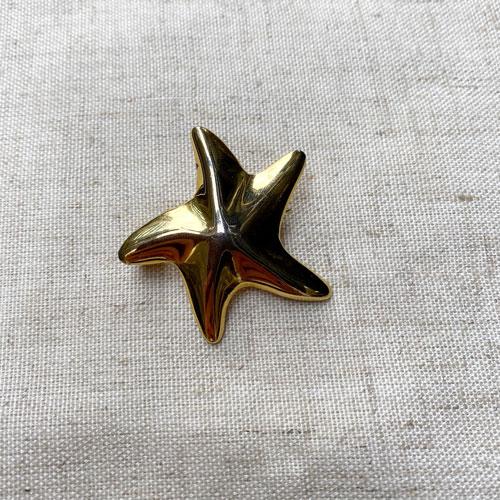broche estrella de mar