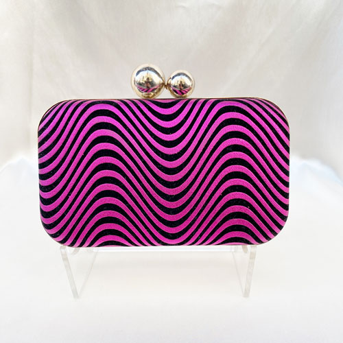 clutch fucsia