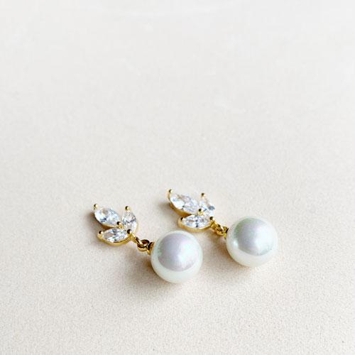 aros zirconia y perla