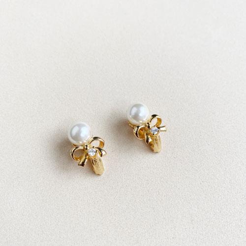 aro de perla pequeno