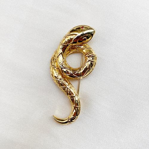 broche serpiente