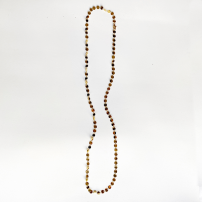 collar largo dorado