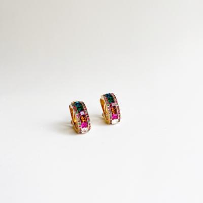 aros de clip multicolor