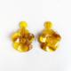aros flores de resina