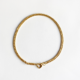 collar corto cadena dorada