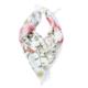 panuelo rosa con flores