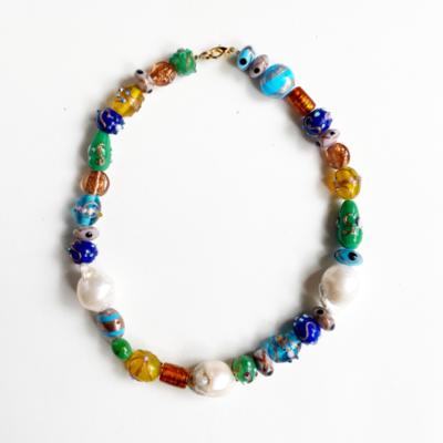 collar cristal de murano