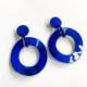 aros de resina azul