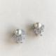 aros cristal y perla
