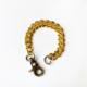 pulsera dorada bronce