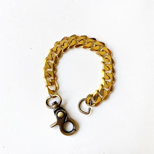 Pulsera dorada de bronce