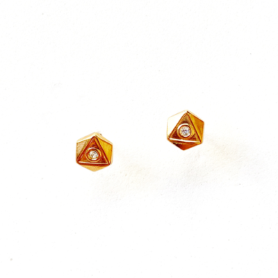 aros triangulos pequeños