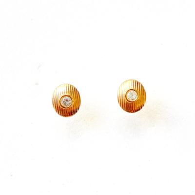 aros pequeños ovalados