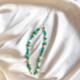 strap de cristales verdes