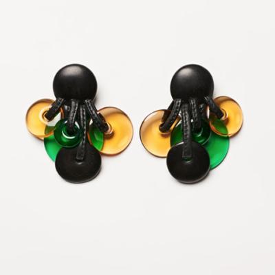aro monies negro y verde