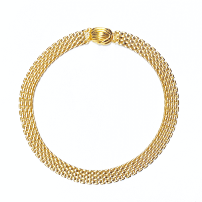 collar de cadena plana