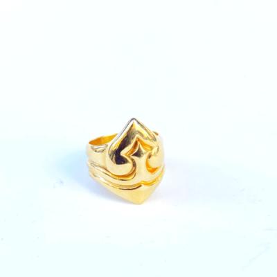 anillo corazon