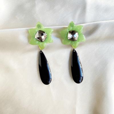 aros negros y verdes