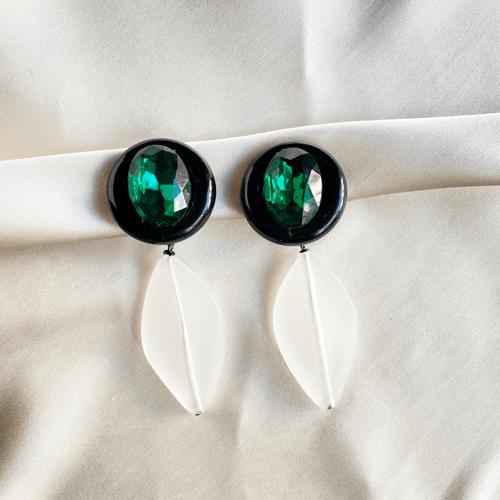 aros blancos y verdes