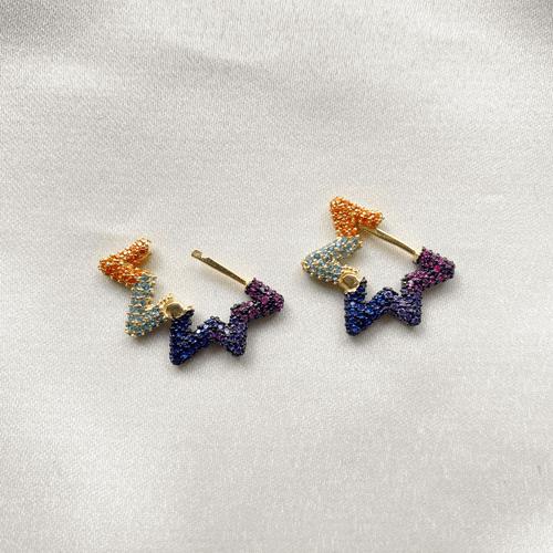 argollas multicolor